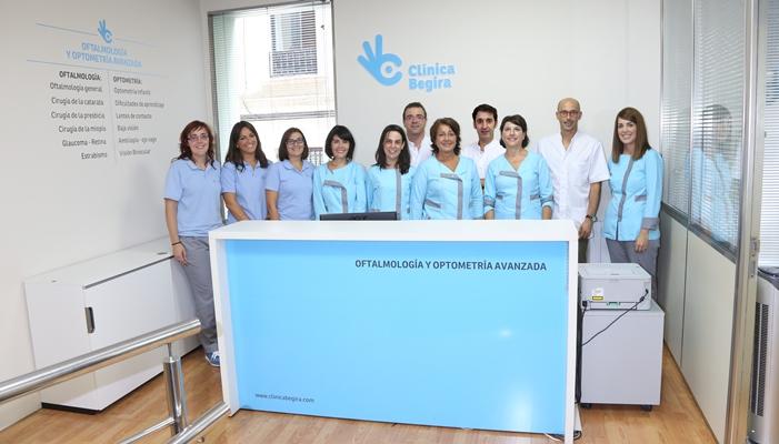 Equipo Clinica Begira comprimida