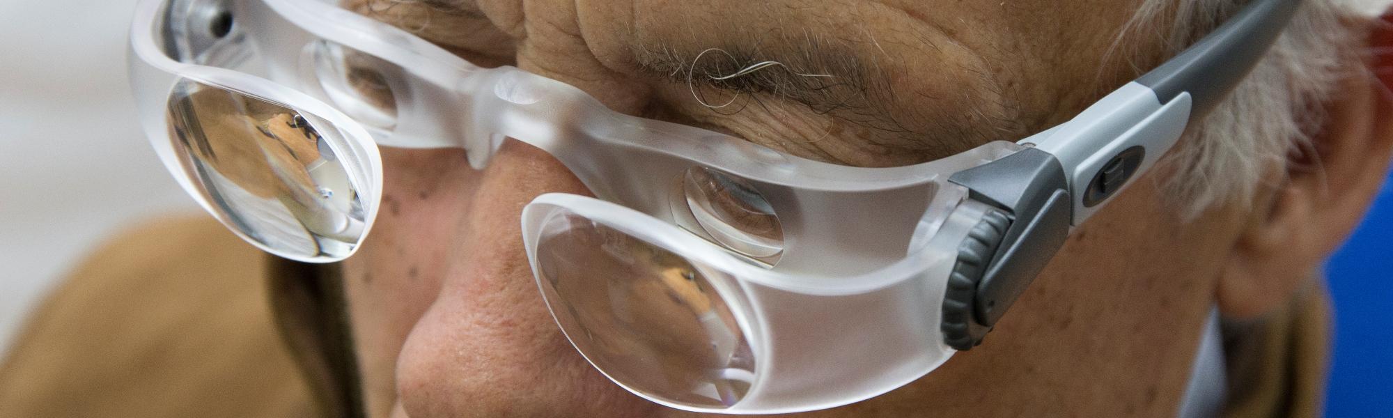 Centro especializado en la <span>rehabilitación de personas con baja visión</span>